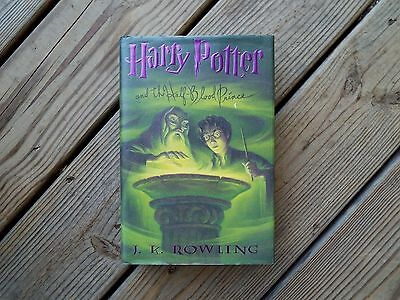 HARRY POTTER AND THE HALF-BLOOD PRINCE J.K. Rowling 1st EDITION 1st PRINTING HC
