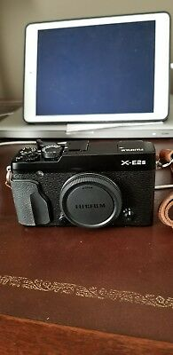 Fujifilm X Series X-E2s16.3MP Digital Camera - Black body only with extras