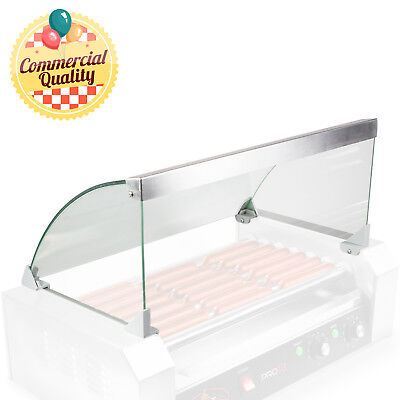 Glass Cover ONLY for Hot Dog 7 Roller Grill Cooker - Replacement or Upgrade