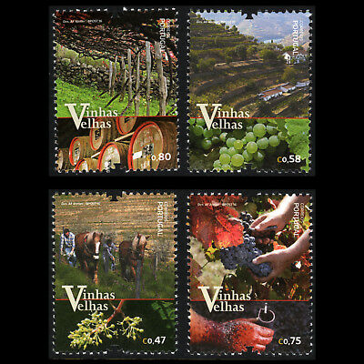 Portugal 2016 - Old Vineyards of Portugal Foot Gastronomy Wine - MNH