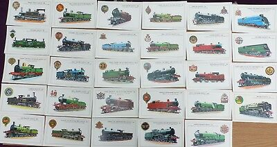 Railway Steam Engine Postcards - Collector Series Colourmaster - Select Postcard