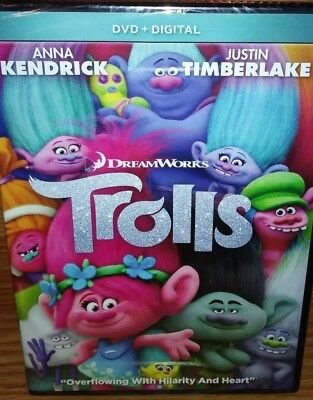 Trolls (DVD, 2017, Includes Digital Copy)