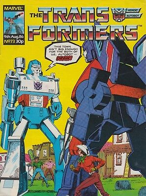 Marvel UK The Transformers #73 (1986) Rare British Weekly Comic