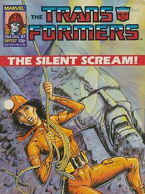 Marvel UK The Transformers #137 (1987) Rare British Weekly Comic