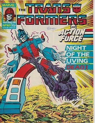 Marvel UK The Transformers #165 (1988) Rare British Weekly Comic