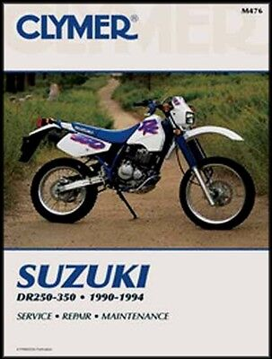 1991 SUZUKI DR350S TRAIL BIKE 2 page Motorcycle Sales Brochure NCS