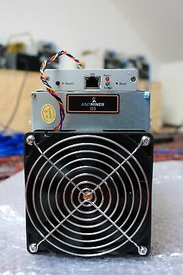 D3 Bitmain Antminer 19.3 GH/s Available NOW ex Melbourne.