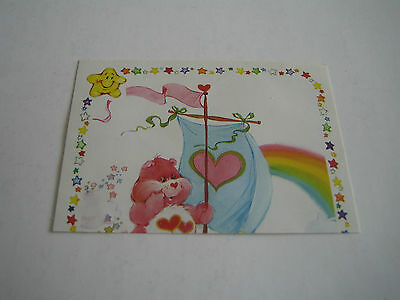 Vintage 1985 Panini Care Bear Sticker #165***american Greetings Corp***