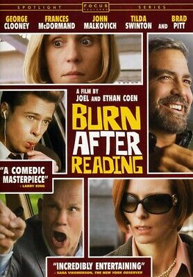 Burn After Reading NEW!