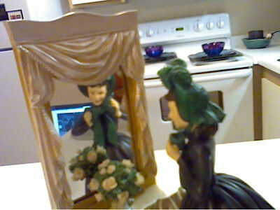 Gone With The Wind San Francisco Music Box:  Scarlett In Green Bonnett