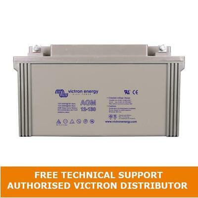 Victron Energy 12V 130Ah Gel Deep Cycle Battery BAT412121104 Boat Solar Leisure