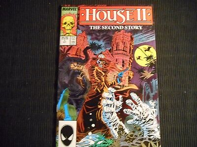 House Ii The Second Story Comic Book Marvel (1987) Issue 1 October.