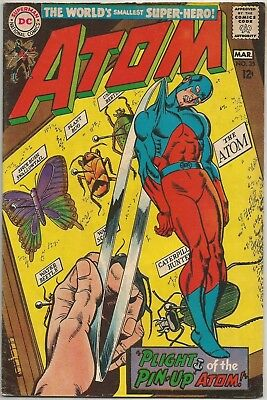 The Atom #35 DC (1968) Silver Age Comic Book FN+/VF- (w. Time Pool Back-Up)