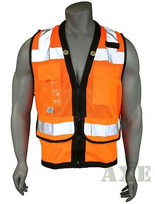 Pyramex Safety Vest Class 2 Heavy Duty Surveyor