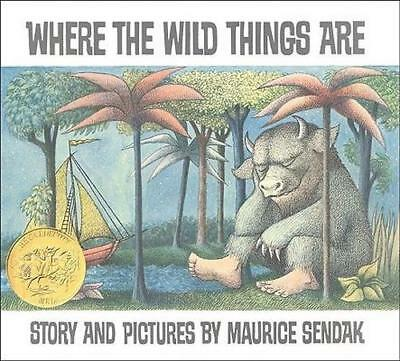 NEW Where the Wild Things are By Maurice Sendak Paperback Free Shipping