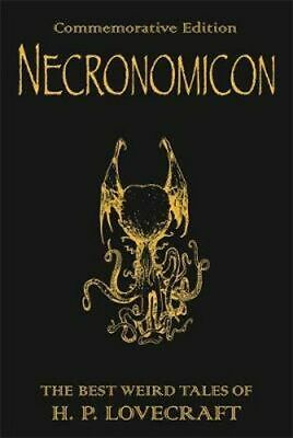 NEW Necronomicon By H.P. Lovecraft Hardcover Free Shipping