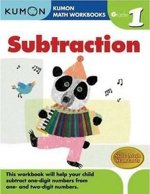 NEW Grade 1 Subtraction By KUMON PUBLISHING Paperback Free Shipping