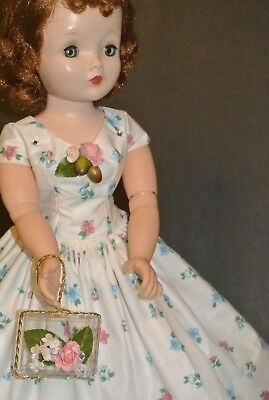 Vintage Inspired Day Dress Slip Purse For Vintage Madame Alexander Cissy Doll