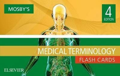 NEW Mosby's Medical Terminology Flash Cards By Mosby Card or Card Deck