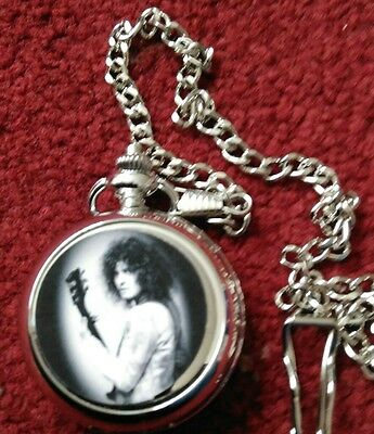 Marc Bolan  2 Pocket Fob Watch  Collectable