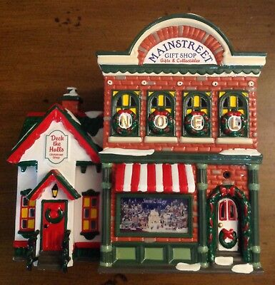 Snow Village #54887 Mainstreet Gift Shop (Perfect Condition)