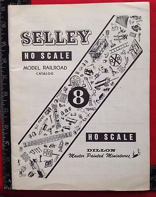 1961 SELLEY Model Railroad CATALOG #8 Winter Park FLA 30 PAGES Order Form HO & O