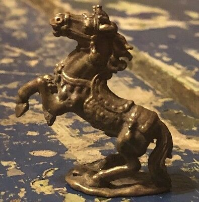 Old Antique Vintage Metal Cast Brass? Horse Circus Fair Model Small Piece