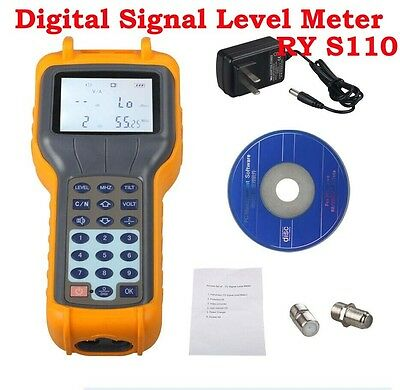 47MHz ~ 870MHz Signal Level Meter RY-S110 CATV Cable TV DB Tester Measurement