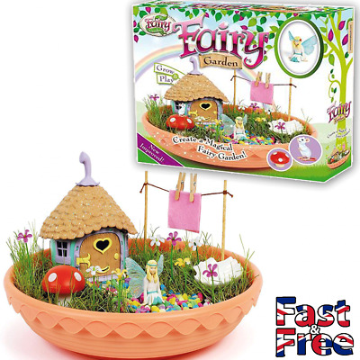 My Fairy Garden - Grow & Create Your Own - Fairy Dust Included - Age 4+ - New