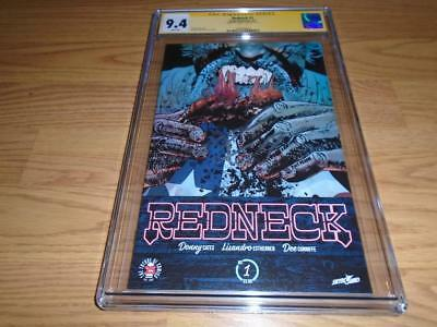 Redneck #1 Cgc 9.4 Signature Series Signed By Donny Cates Red Hot