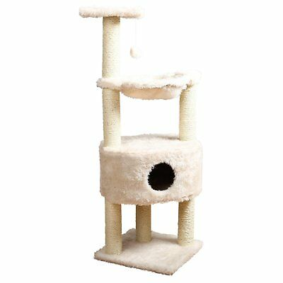 TRIXIE Pet Products Baza Grande Cat Tower, Cream