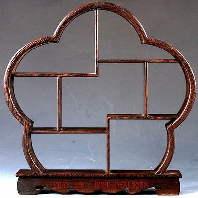 Chinese Beautiful Wooden Handmade Collection Of  Antiques Shelves  MJ04