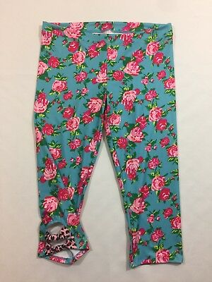 Betsey Johnson For Capezio Cropped Dance wear  Leggings Size Large
