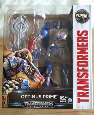 Transformers Last Knight Premier Edition #Leader Class Optimus Prime In-Stock