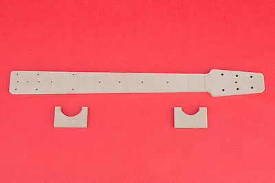 Snakehead Telecaster Guitar Neck Router Template w Back Profiles CNC TELE 1/2""