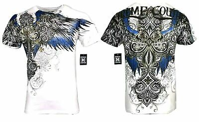 XTREME COUTURE by AFFLICTION Men T-Shirt ENSIGN Tatto Biker MMA UFC S-4X $40