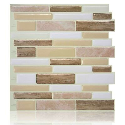 Peel Stick Tiles Kitchen Backsplash Self Adhesive Wall Tiles Vinyl Sticker 3d 20