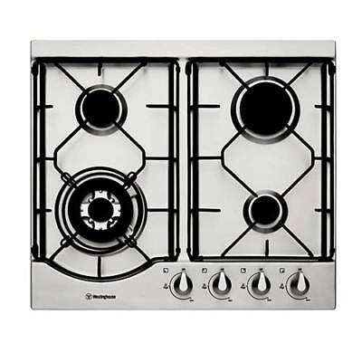 WHG642SA WESTINGHOUSE gas 60cm stainless steel gas cooktop