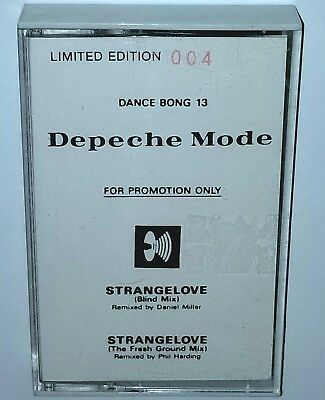 DEPECHE MODE LIMITED EDITION STRANGELOVE PROMO TAPE CASSETTE DANCE BONG 13 lp cd
