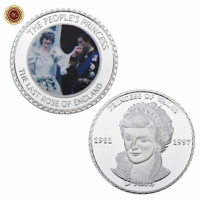 WR 1981 Royal Wedding Charles and Diana SILVER Collectors' Coin Souvenirs Gifts