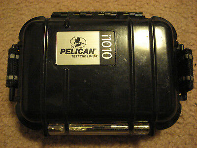 i1010 Small Watertight Pelican Case for Phone/ Ipod, with Headphone Jack!