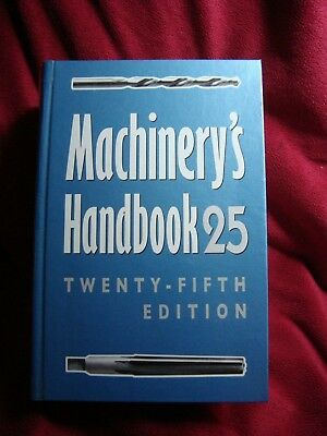 Machinery's Handbook 25th Edition Toolbox Industrial Press NEW