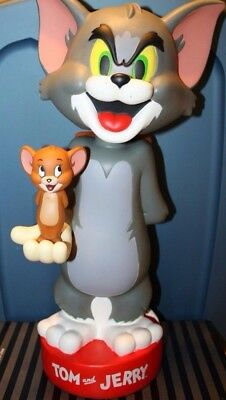 "Hanna-Barbera ""Tom and Jerry"" 20 Inch Bobble-Bank SOME DISCOLORING VERY RARE!!!"