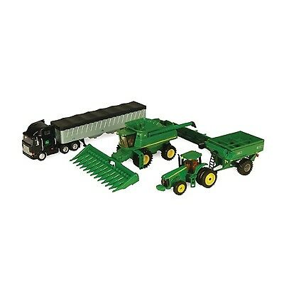 John Deere Toy Harvesting Toy Set 1/64 Scale (45150) (PN:  45150)