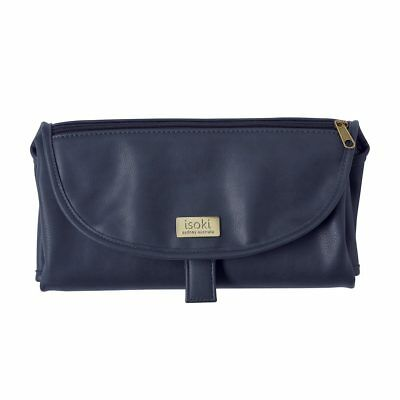 NEW Isoki Baby Changing Change Mat Clutch - Navy (Limited Edition)