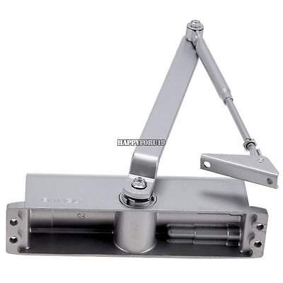 85~120KG Aluminum Commercial Door Closer Two Independent Valves Control Sweep US