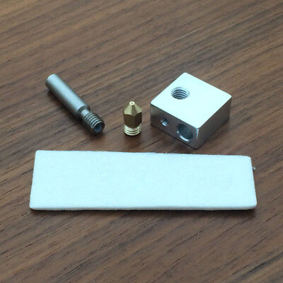 MK8 Extruder 0.4mm Marked Nozzle+Ptfe Throat+Ceramic+Block - CTC For 3D printer
