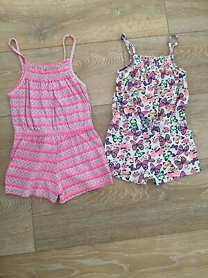 Playsuits X2 Age 3-4