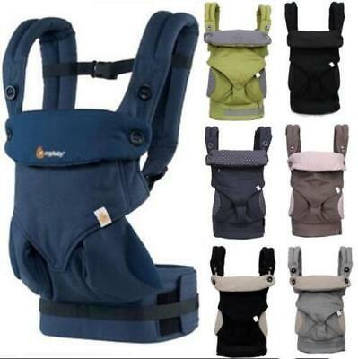 Kids Infant Backpack Baby Carrier Four Position Ergo 360