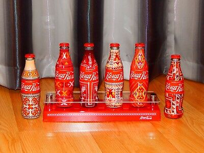 Coca Cola Bulgaria Limited Edition Embroidery inspiration Set + Stand